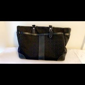 Coach Multifunctional Diaper/Laptop CrossBag